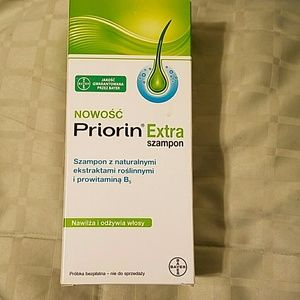 PRIORIN Extra Shampoo for hair loss.New 200ml